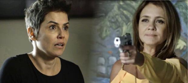 Laureta mata a própria final, no final de Segundo Sol. (foto reprodução).