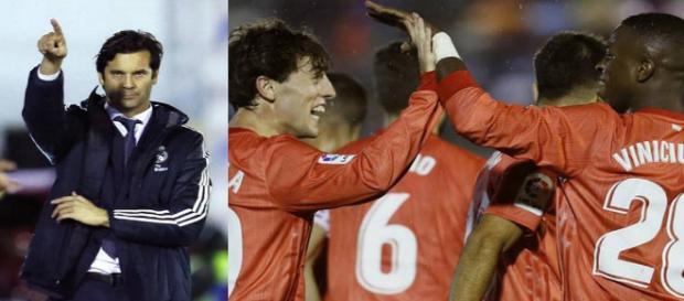 primer triunfo de Solari con el primer equipo del Real Madrid