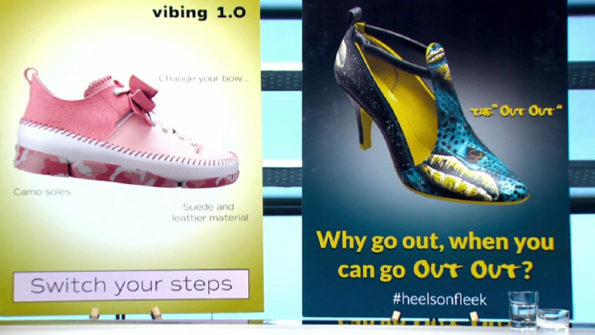 Candidates design fleek ladies shoes to