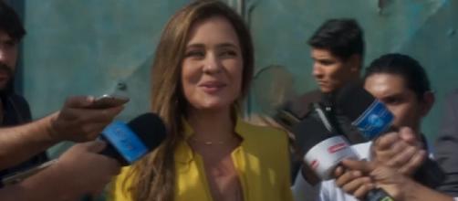 Final de Laureta polemiza com suposto recado a Bolsonaro. (foto reprodução).