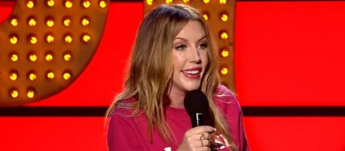 Katherine Ryan to become The Duchess of Netflix (Image credit: YouTube screen grab)