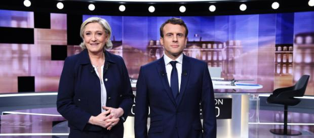 Marine Le Pen, Emmanuel Macron Debate Before French Election