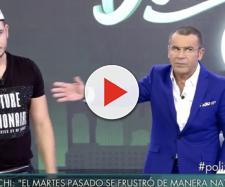 Jorge Javier Vázquez echa a Omar de la entrevista en Telecinco tras sus vejaciones a Techi