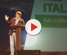 Renzi attacca Grillo e Casalino dal palco di Salsomaggiore