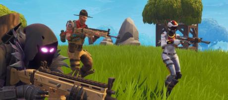 Retain first-shot accuracy in Fortnite with this little trick. - [Epic Games / Fortnite screencap]