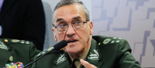 Comandante do Exército, general Eduardo Villas Bôas