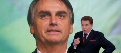 Jair Bolsonaro liga para Silvio Santos durante Teleton 2018