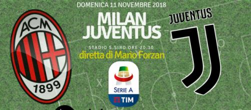 Milan - Juventus: big match a San Siro