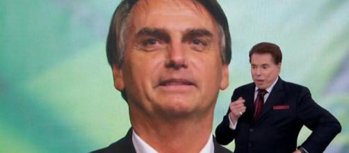 Silvio Santos e Bolsonaro conversaram por telefone durante Teleton 2018