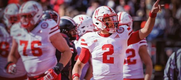Freshman QB Adrian Martinez and the Nebraska football team set several school records with Saturday's win. - [Elite Sports / YouTube screencap]