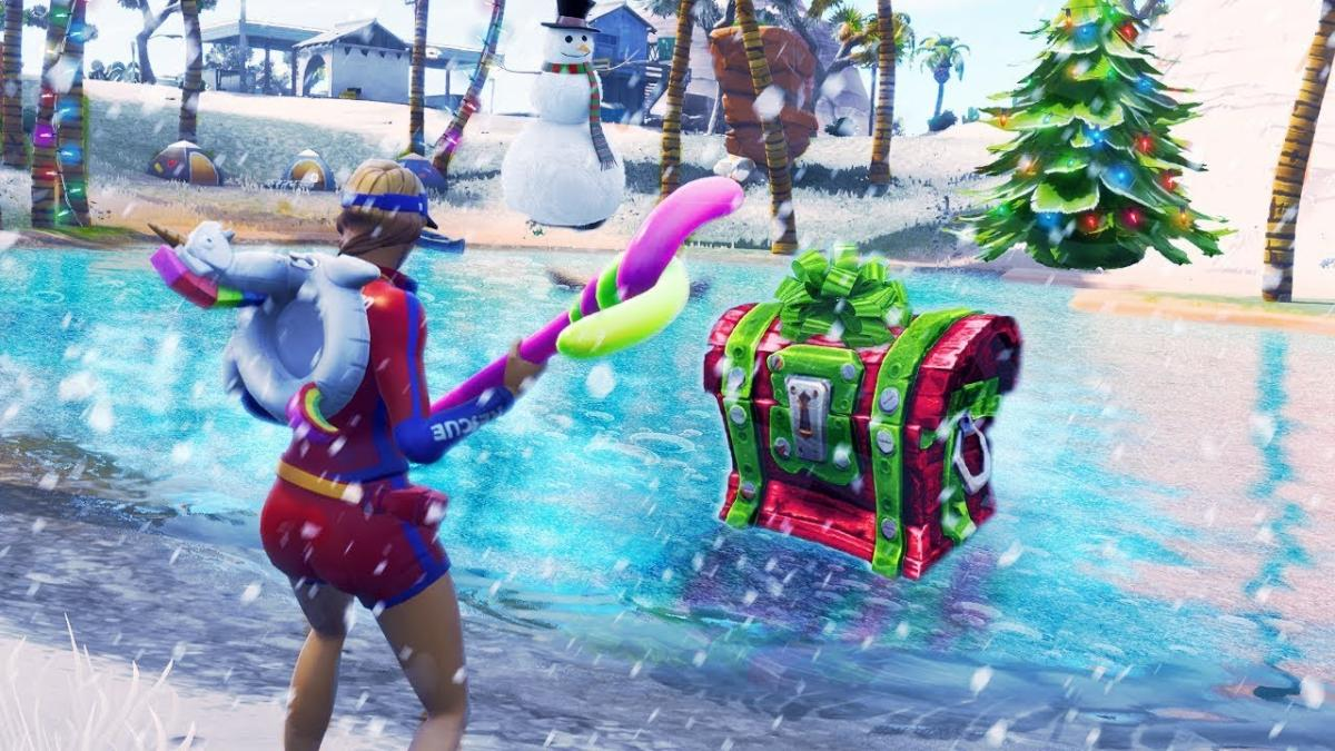 Fortnite Battle Royale Could Get A Snowy Map For Season 7 Epic