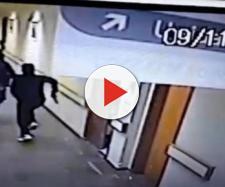 Câmeras de segurança do hospital Centenário flagraram ação dos criminosos