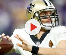 Drew Brees has the Saints rolling. [Image via ESPN.com/YouTube]