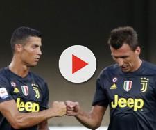 Juventus, la gioia di Mandzukic e Cristiano Ronaldo