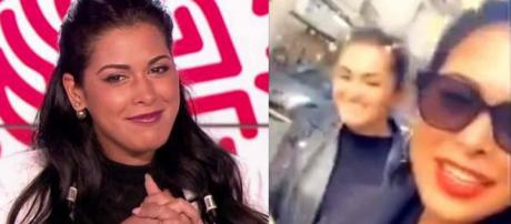 Ayem Nour filme un homme noir sur Snapchat et se moque de lui avec son assistante.