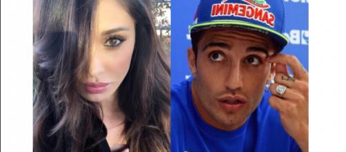 Belen Rodriguez e Andrea Iannone 'faccia a faccia' al compleanno di Jeremias.