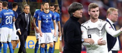 Nations League, destini opposti per Italia e Germania, ma stavolta stanno meglio gli azzurri