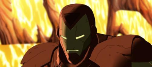 Tony Stark na animação O Invencível Homem de Ferro