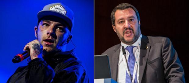 Salmo e Mateo Salvini, la polemica continua
