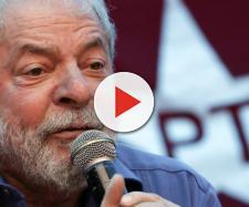 Ex-presidente Lula, preso pela Polícia Federal