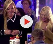 'Sálvame' sorprende a Belén Esteban por su 45 cumpleaños. / Mediaset