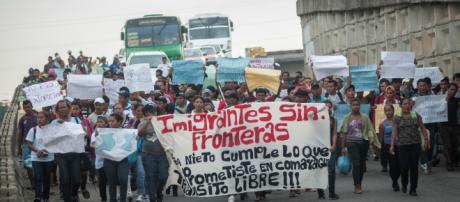 Caravana migrante rumbo a Estados Unidos