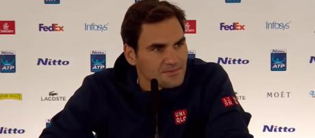 Roger Federer will face Dominic Thiem next. Photo credit - ATPWorldTour/ YouTube