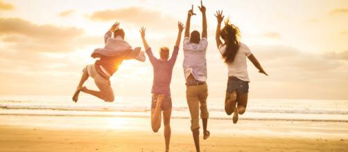 A felicidade é um estado durável de plenitude. (foto reprodução).