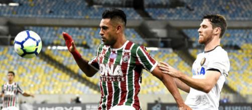 Flu tenta a difícil missão de encarar, fora de casa, o líder Palmeiras pelo Brasileirão (Foto: Lucas Merçon)