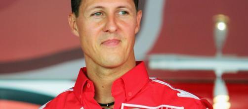 Michael Schumacher ai tempi della Ferrari