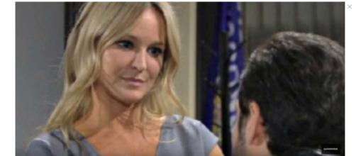 Rey's wife Mina stopped his romance with Sharon. - [Soap Soup Soup / YouTube screencap]