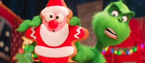 The new Grinch film is cleaning up nicely at the box office ahead of the holidays. - [Variety / YouTube screencap]