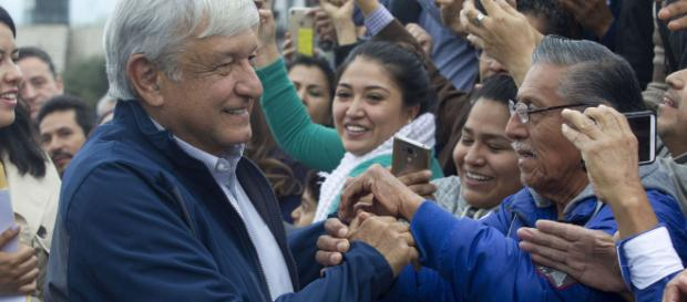 López Obrador, el presidente electo de México.