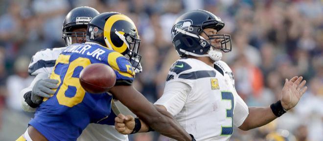 Los Rams sobreviven en casa ante los Seahawks para ponerse con marca de 9-1