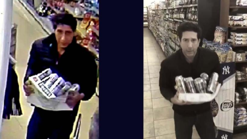 Friends: David Schwimmer lookalike thief has been arrested
