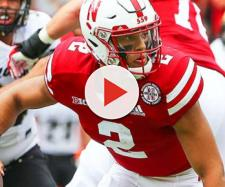 Adrian Martinez looks to keep the Huskers rolling vs Michigan State. [Image via Athlon Sports/YouTube]