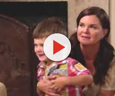 Beautiful: Katie Logan rischia di perdere il figlioletto Will