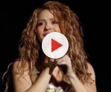 Shakira durante show da El Dorado World Tour.