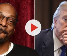Snoop Dogg fuma per protesta una canna di fronte alla Casa Bianca