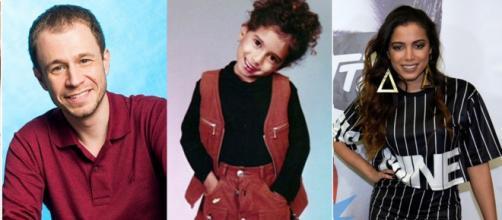 Galeria de fotos com o antes e o depois de algumas celebridades.