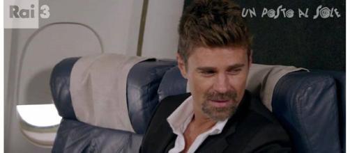 L'attore Fabio Fulco nei panni di Valerio Viscardi.