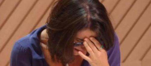 Paola chora com eliminação de André Piontek do MasterChef Profissionais