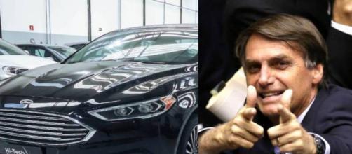 Para segurança do presidente Bolsonaro e do vice Mourão, carros serão blindados