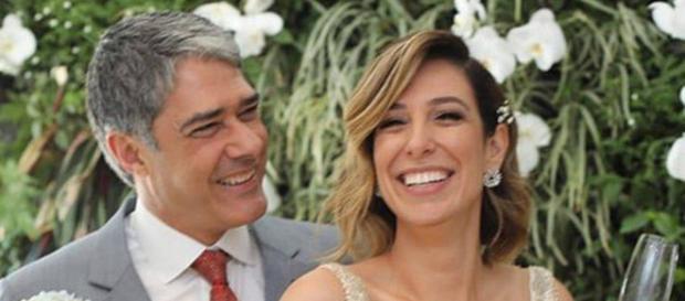 Bonner e Natasha se casaram novamente, agora no Rio de Janeiro