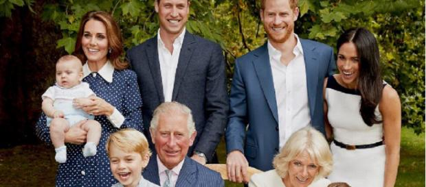 Clarence House release a new family photo to celebrate Prince Charles' 70th Birthday (Image credit: Clarence House/Twitter.com)