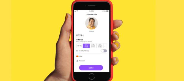 Lyft adds driver-friendly features including default tipping. [Image Credit] TheVerge - YouTube