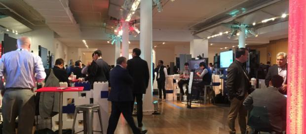 Mipim PropTech NYC 2018 main lobby.