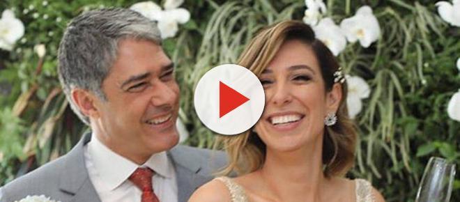 Primeiro vídeo do casamento de William Bonner e Natasha é divulgado na internet