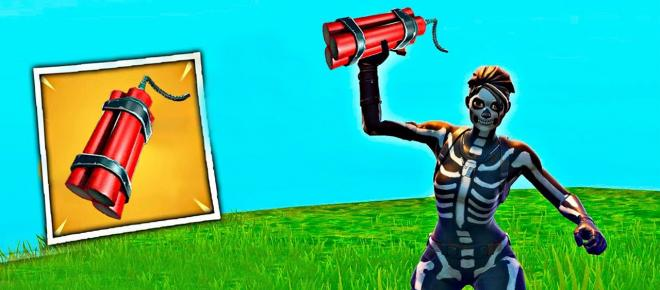 New explosive item is coming to Fortnite Battle Royale