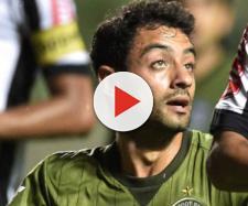 Daniel quando jogou pelo Coritiba do Paraná